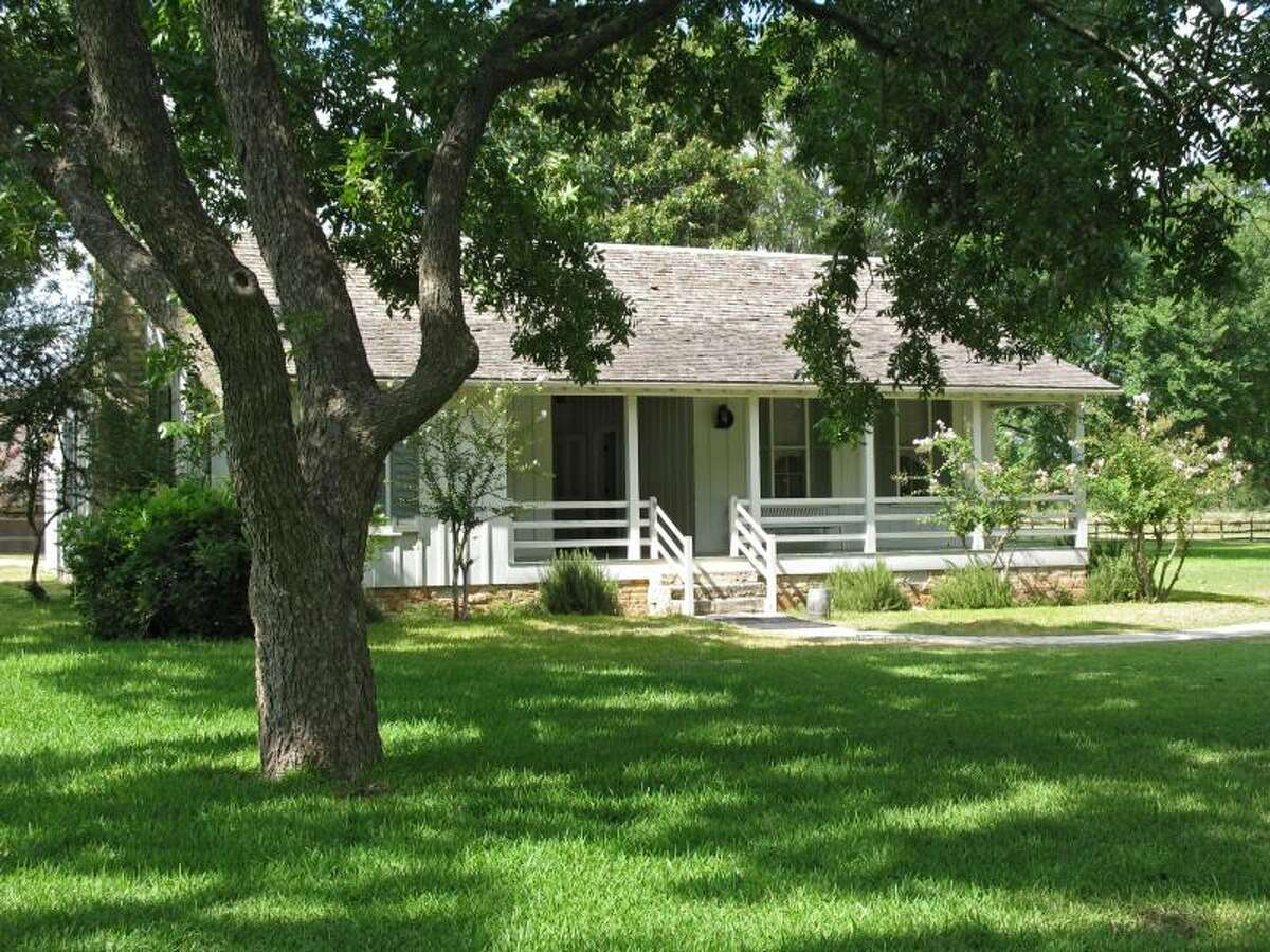 President Lyndon Johnson was born in a small white farmhouse on Aug.27, 1908. The home was eventually torn down, but Johnson reconstructed it in 1964, while he was still president. The house is the only birthplace ever to be rebuilt by a president in office