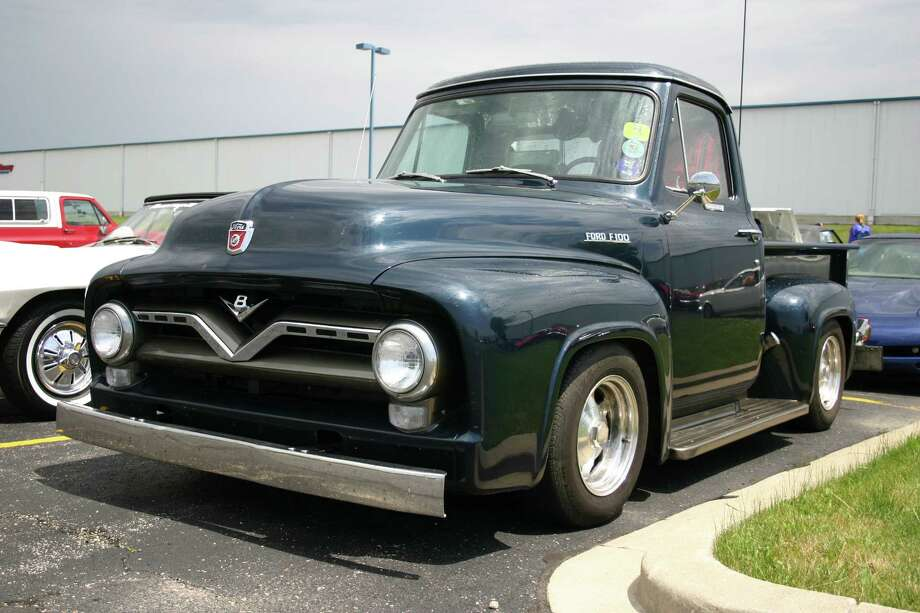 This custom Ford F-100 truck brings the past to the present with its original body and some new auto parts.