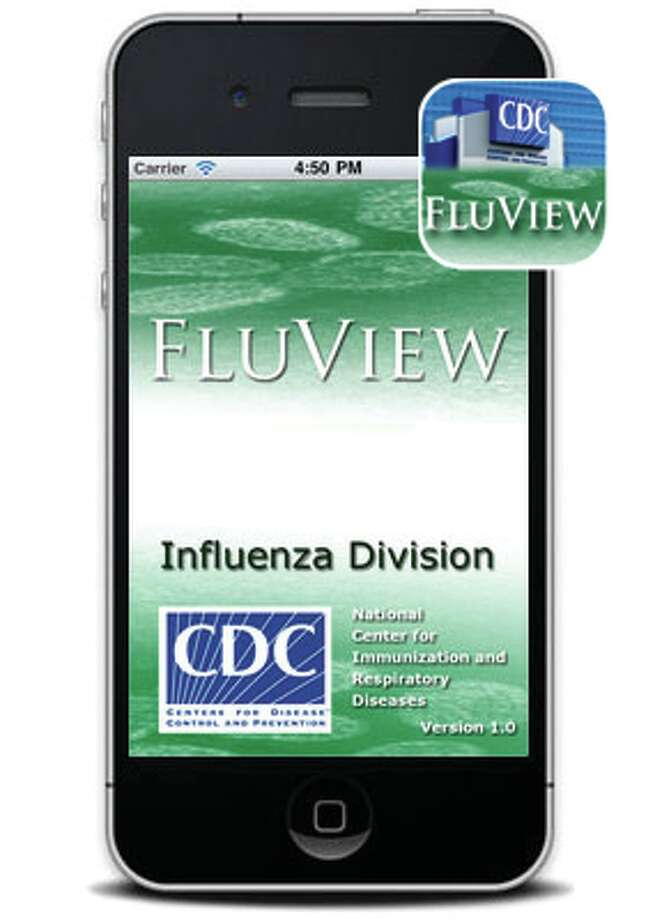 CDC FluView flu app