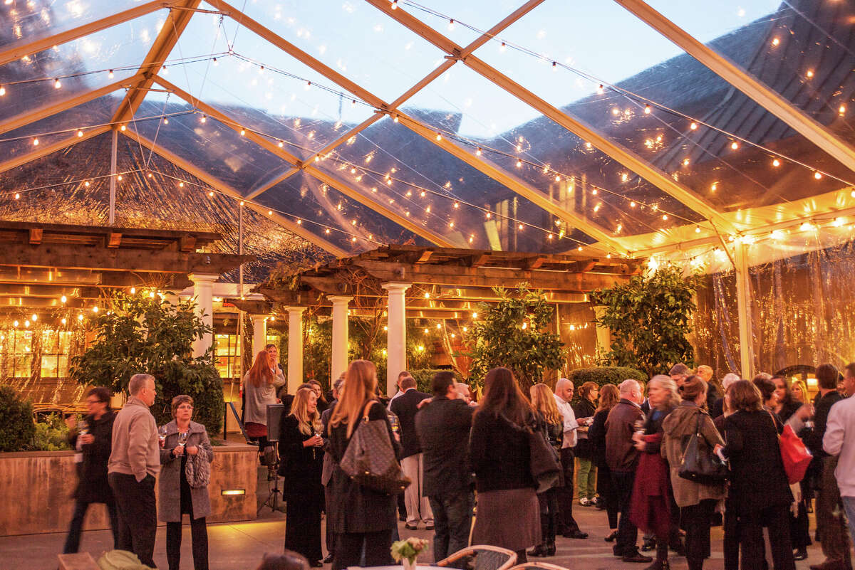 Judges attended the dinner at the Coppola Winery, which features swimming pools, a bocce court, a music venue and cabins for rent.