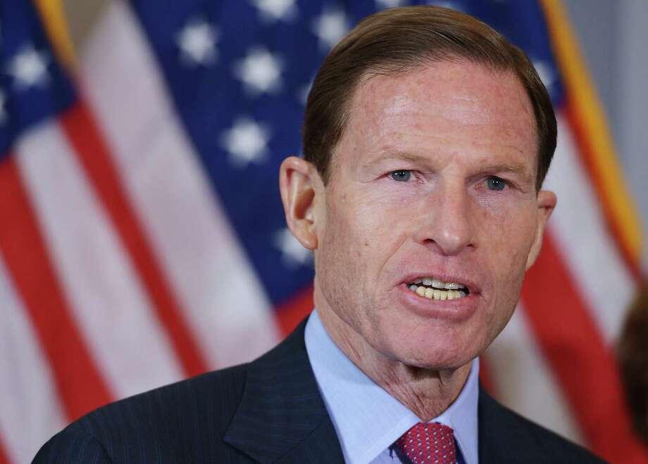 Senator Richard Blumenthal Photo: MANDEL NGAN,  MANDEL NGAN/AFP/Getty Images /  Getty Images