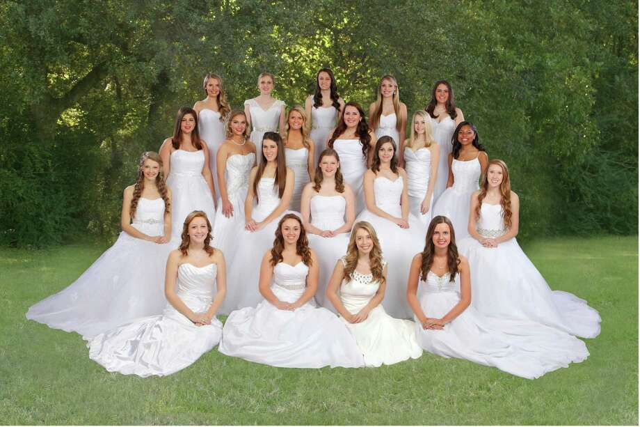 Katy's National Charity League Inc.'s Star Chapter will honor 20 seniors this month. They are, from left, front row: MacKenzie Winters, Kelsey Baker, Callie Whitbeck and Taylor Henley; second row: Stephanie Huisman, Kathryn Plummer, Emily Sanders, Carlysle Gesoff and Jordan Catlett; third row: Caroline Muller, Christa Bourgeois, Courtney Smith, Colleen Carney, Hannah Randall and Joi Benjamin; back row: Macy Medford, Shay Achee, Jaclyn Adams, Jessica Sides and Allison Anthis. Photo: See What Develops