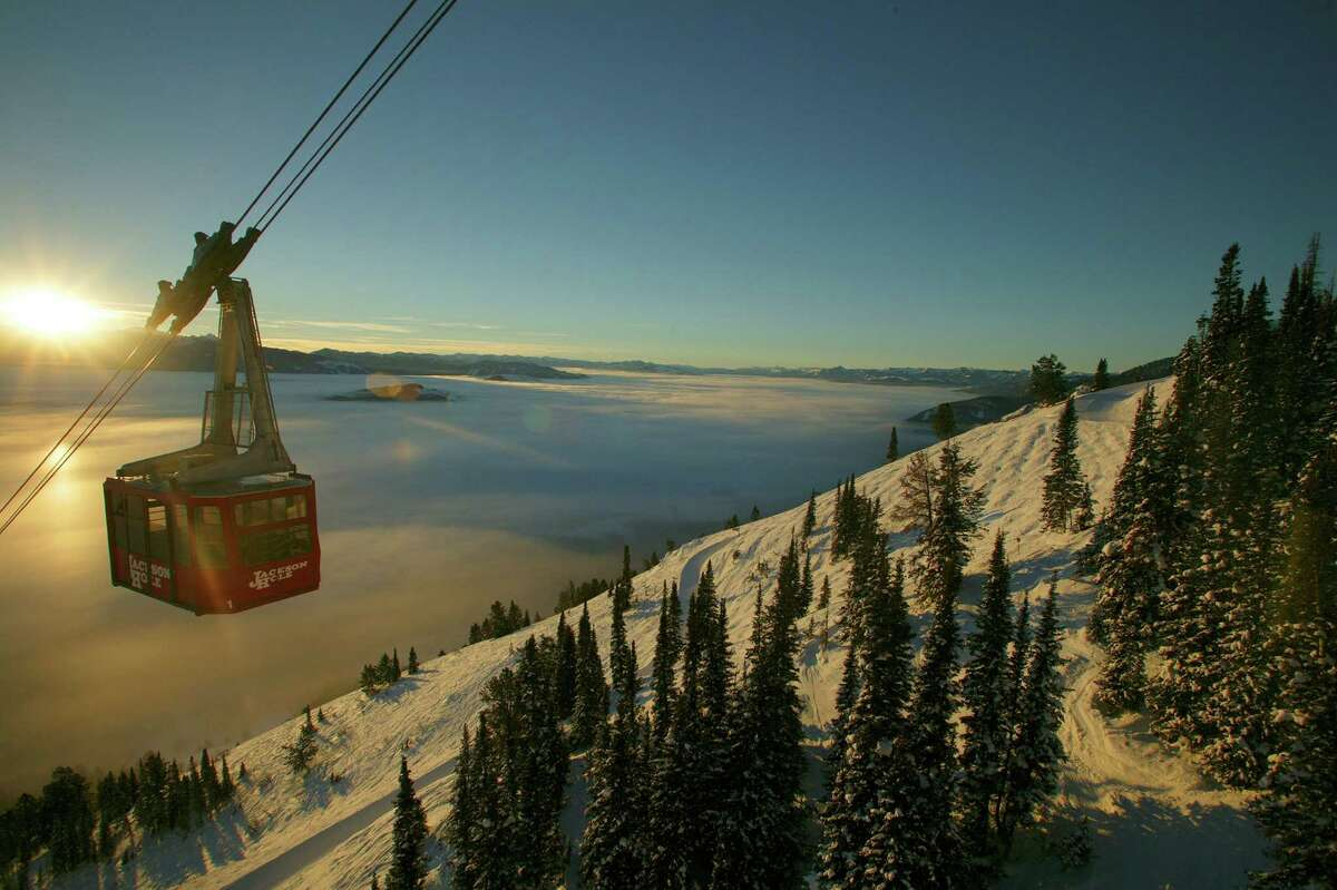 The Aerial Tram at Jackson Hole Mountain Resort