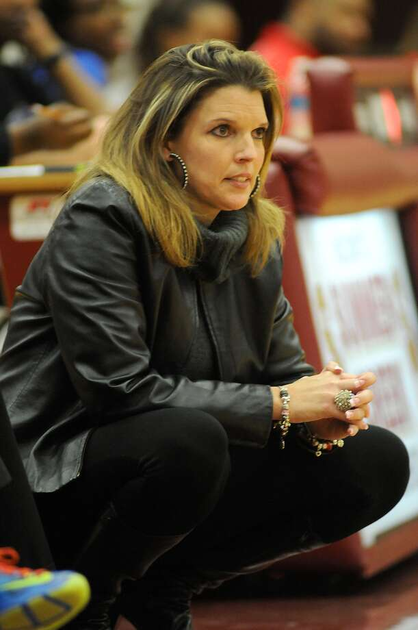 Summer Creek coach Angie McDonald has the Bulldogs on the verge of a playoff spot. Photo: Jerry Baker, Freelance