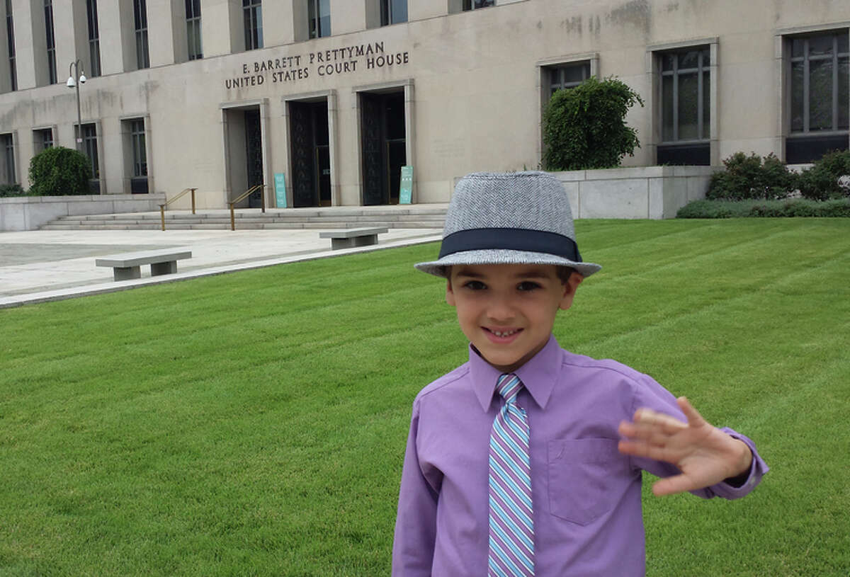 Nicolas Brotherton, 6, starred in a music video that Rasta Rock Opera posted on YouTube.