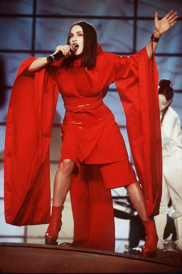 1999: Madonna's geisha period. Photo: Ron Wolfson, Getty Images