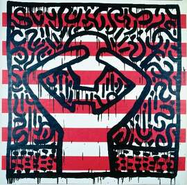 """Untitled"" by Keith Haring, 1981."