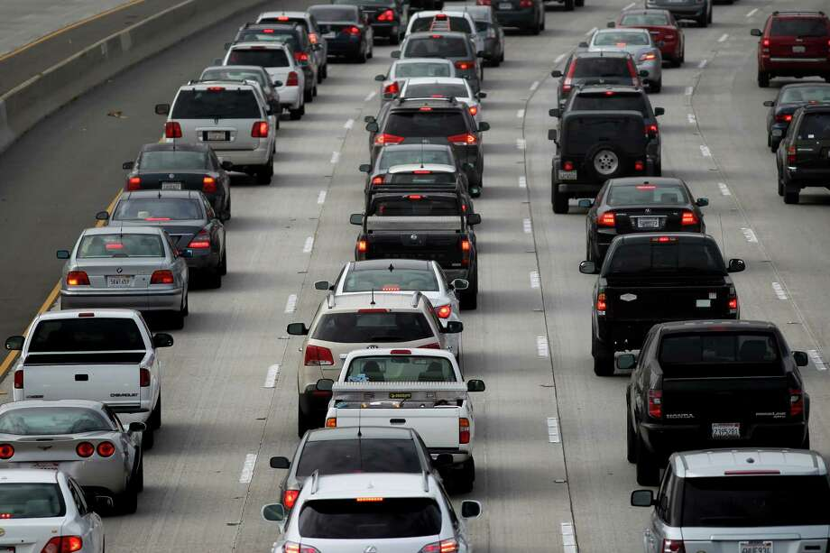 HAR's new Drive Time Search allows soon-to-be homeowners to search for their new house based on various a number of filters, including commute times to frequently visited places like a job or school. See how long it would take to get to work. Photo: David McNew, Getty Images / 2013 Getty Images