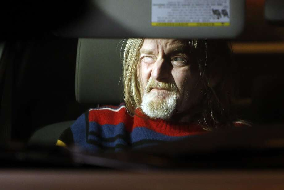 Mark Andrus leaves county jail after no charges were filed against him in the murder of a man found in a suitcase. Photographed in San Francisco , Calif. on Tuesday, February 3, 2015. Photo: Scott Strazzante, The Chronicle