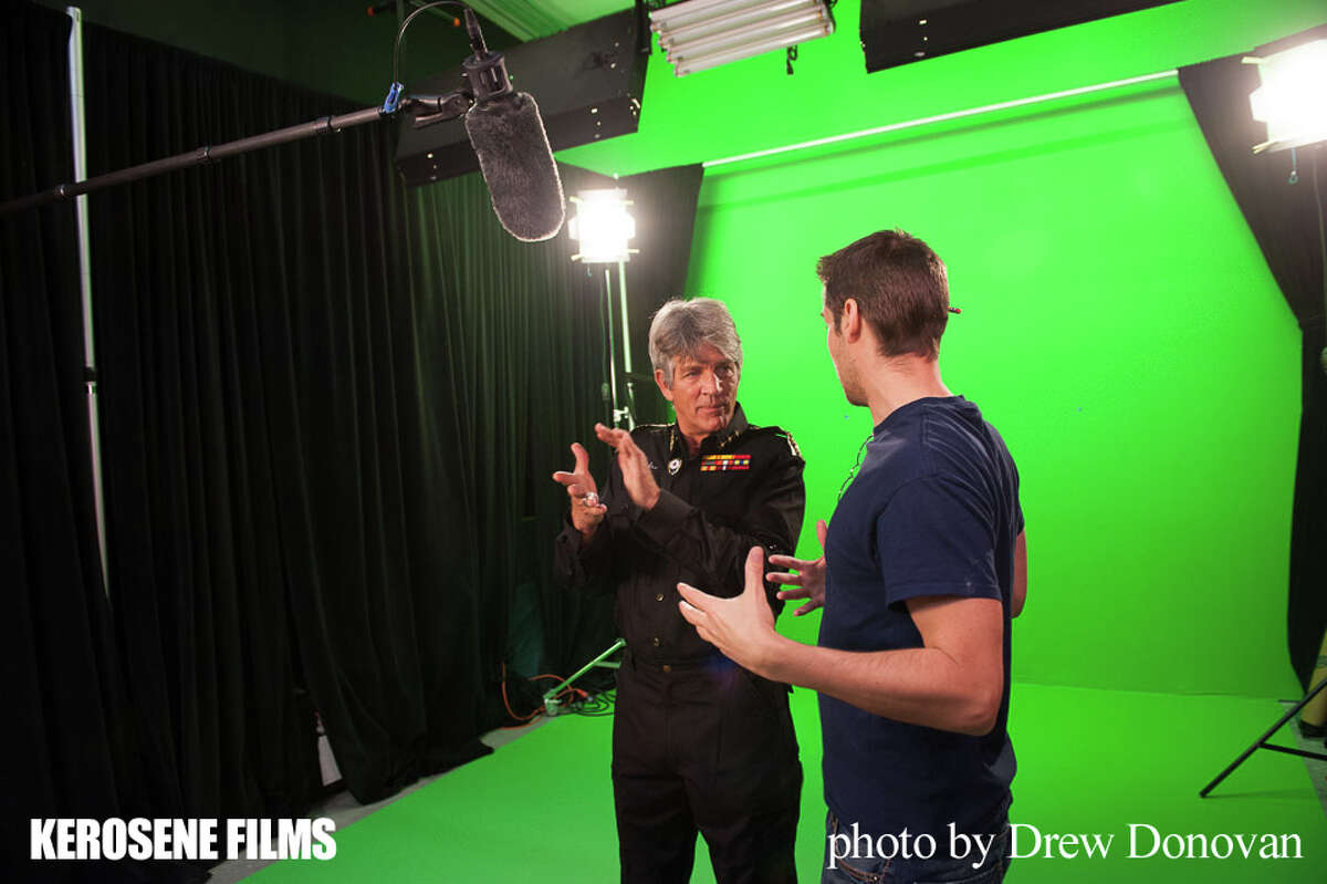 """""""Rogue Strike"""" starring Eric Roberts and Kerry Beyer."""