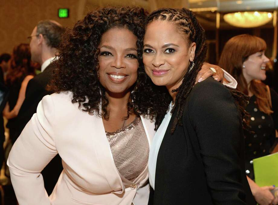"Oprah Winfrey, left, and Ava DuVernay will create a series based on the Natalie Baszile novel, ""Queen Sugar."" Photo: Michael Kovac, Contributor / 2015 Michael Kovac"