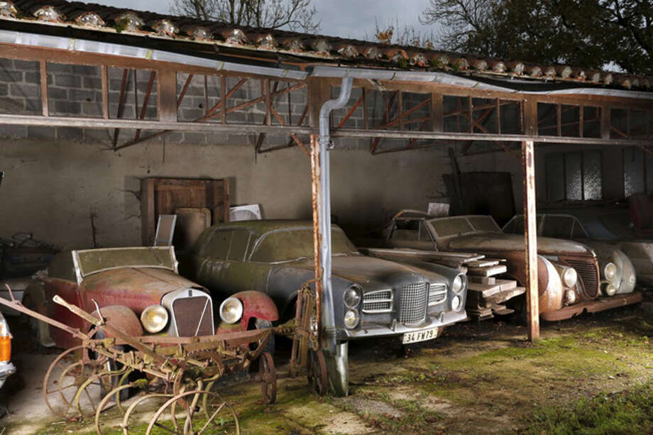 Artcurial auctioneers stumbled on $18 million worth of vintage autos last year in a French barn. They all go on the block Feb. 6 in Paris. Click through to see how they look now, compared with how they would have been in their hey-day. Photo: Business Insider