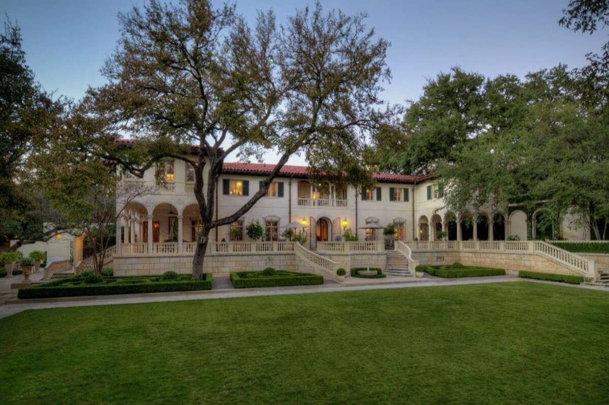 Central Texas native Malcolm Reed's Texas Belvedere Mansion is a Texas Historic Landmark.