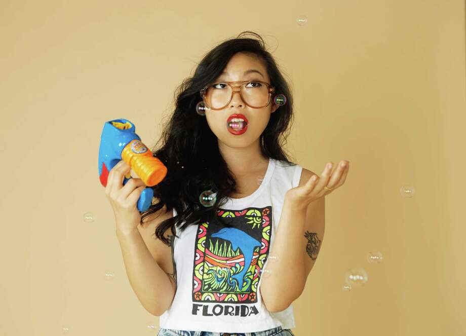 """Click through the slideshow for a few actors with ties to the Capital Region. Actress and rapper Nora Lum, a.k.a Awkwafina, who was among the stars of """"Crazy Rich Asians"""" and """"Ocean's 8"""" is a University at Albany graduate and former Times Union intern. Photo: Courtesy Proctors / Shirley Yu"""