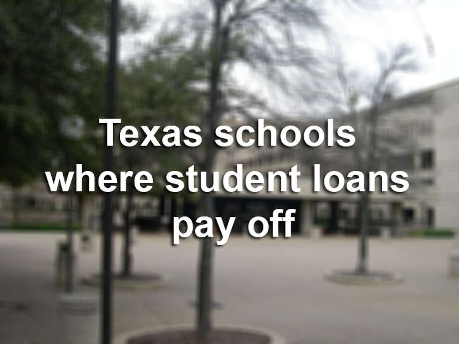 Is taking out a student loan worth how much you'll make after graduating? Here's how many dollars you'll earn after graduating from Texas colleges and universities per loan dollar borrowed.Note: this gallery does not include schools in San Antonio. Photo: File