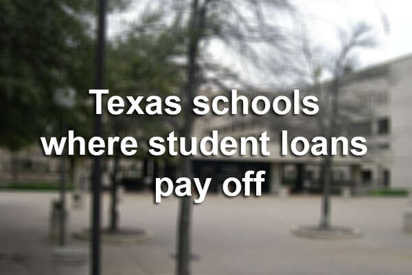 Is taking out a student loan worth how much you'll make after graduating? Here's how many dollars you'll earn after graduating from Texas colleges and universities per loan dollar borrowed.