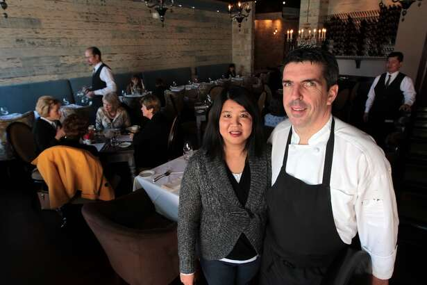 Etoile Cuisine et bar owners Monica Bui and Philippe Verpiand Wednesday, Jan. 16, 2013, in Houston. ( James Nielsen / Chronicle )
