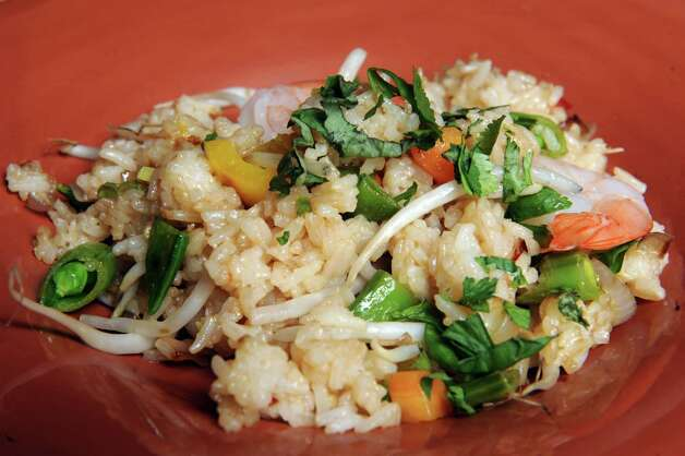 Tai fried rice with shrimp on Tuesday Jan. 27, 2015 in Delmar , N.Y. (Michael P. Farrell/Times Union) Photo: Michael P. Farrell / 00030183A