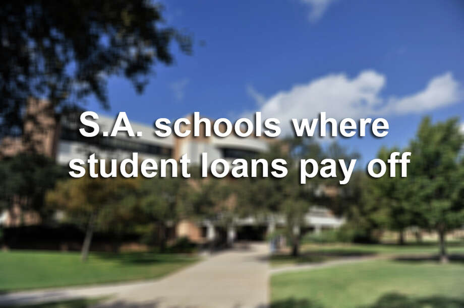 Is taking out a loan worth how much you'll make after graduating? Here's how many dollars you'll earn after graduating from San Antonio colleges and universities per loan dollar borrowed. Photo: Robin Jerstad, File