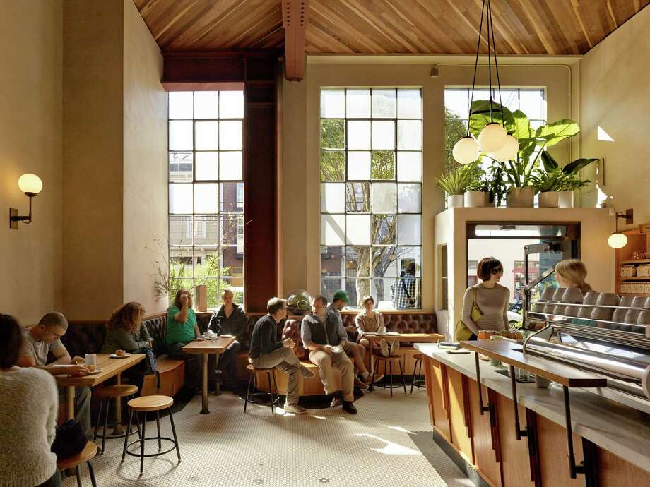Sightglass on 20th Street in San Francisco was designed by Boor Bridges Architecture, the firm behind some of the hippest spots in San Francisco. Photo: Matthew Millman / Boor Bridges Architecture / ONLINE_CHECK