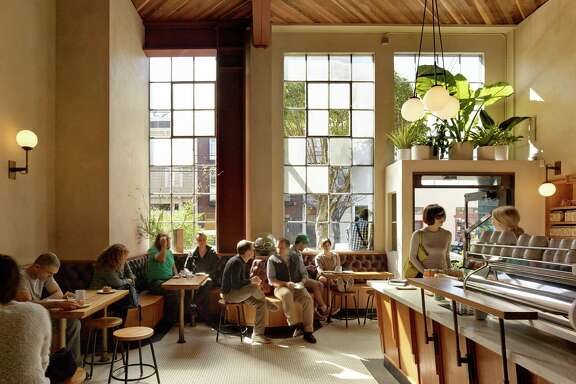 Sightglass on 20th Street in San Francisco was designed by Boor Bridges Architecture, the firm behind some of the hippest spots in San Francisco.
