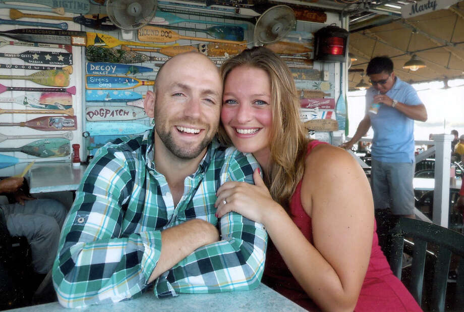 Shayna George and Michael Silvestri, engaged. Photo: Contributed Photo / The News-Times Contributed
