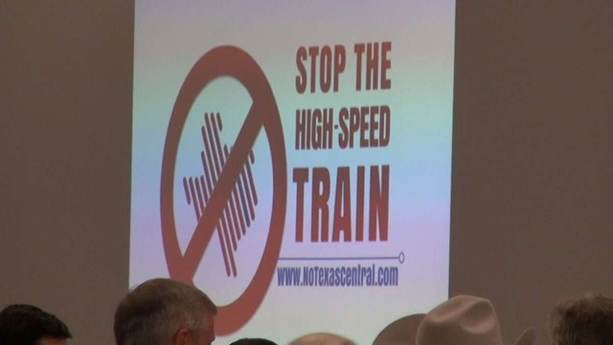 In Montgomery County, more than 800 residents turned out for a community meeting that concerned the rail line.