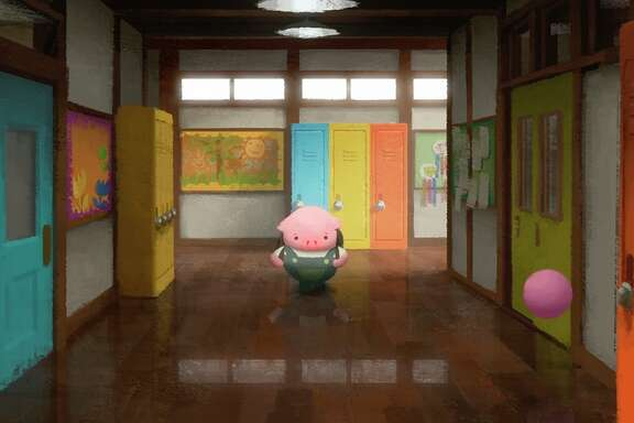 "A still from Robert Kondo and Dice Tsutsumi's ""The Dam Keeper."""