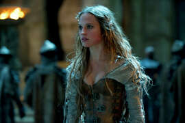 """The witch Alice (Alicia Vikander) may not be exactly what she seems in the fantasy """"Seventh Son,"""" which is based on the novel."""