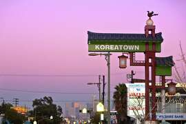 live in Koreatown, but enough that a drive down Western Avenue between Olympic and Wilshire feels like you've taken a wrong turn and ended up in the streets of Seoul.