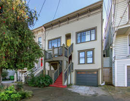 The $1.775 million home is in the northernmost tip of Bernal Heights. The early 20th century Edwardian boasts a kitchen remodeled by a professional chef.