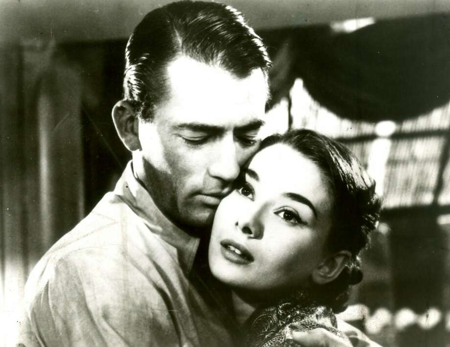 """Gregory Peck and Audrey Hepburn in """"Roman Holiday."""" Photo: Chronicle Photo Archive"""