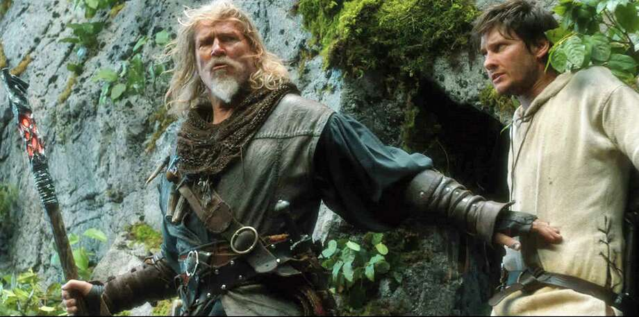 "Jeff Bridges (left) and Ben Barnes star in the fantasy adventure ""Seventh Son,"" opening Feb. 6, 2015. Photo: Universal Studios / Universal Studios"