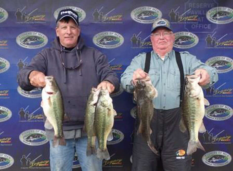 Mark Price and Tom Stinsonwith their first place catch courtesy photo