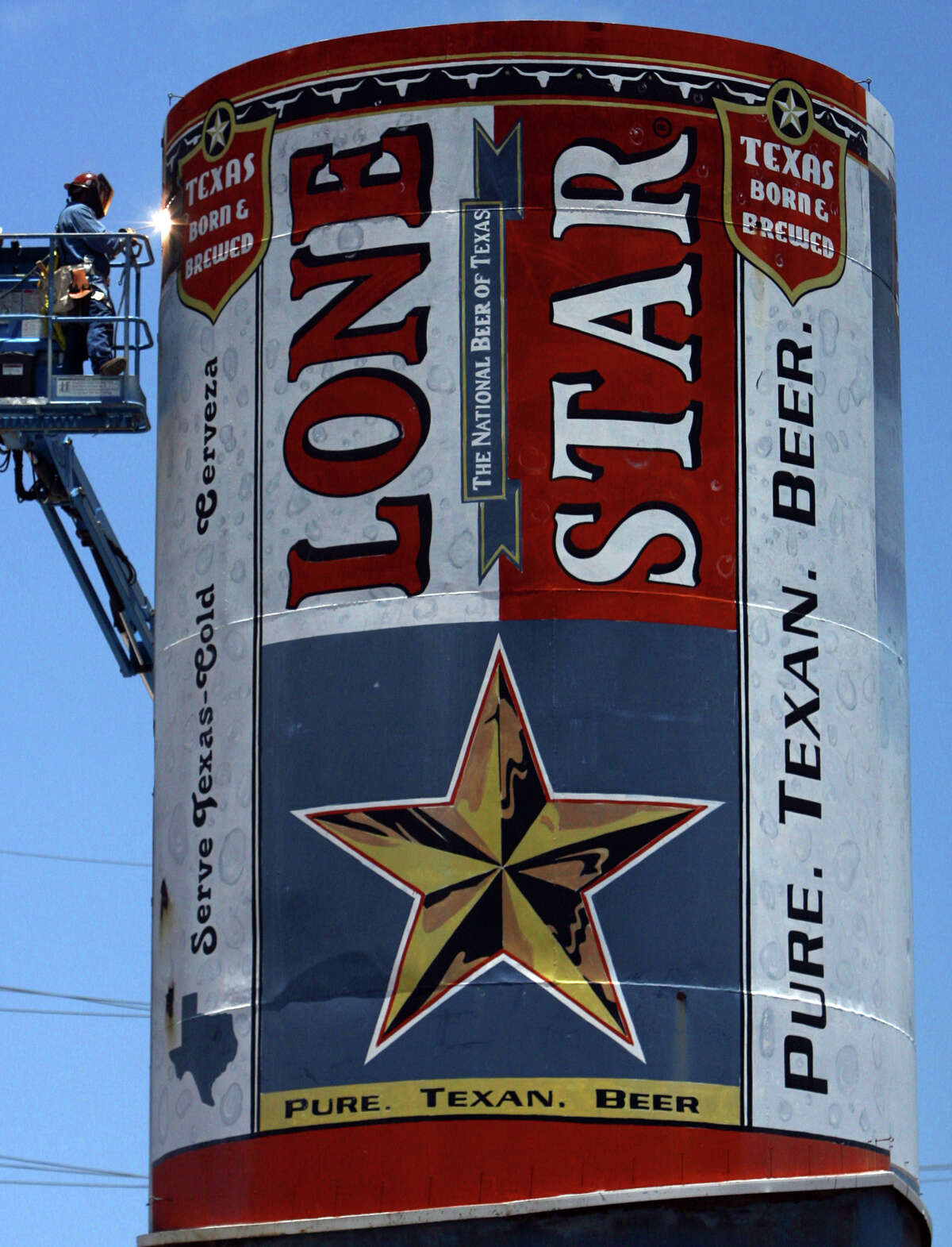 In 1883, Beer baron Adolphus Busch and his partners built the Lone Star Brewery in San Antonio. It was the first large mechanized brewery in Texas, according to the brand's corporate history. Olympic Brewing Co. bought Lone Star in 1976 and then sold it to G. Heileman Brewing Co. in 1983. Stroh bought Heileman in 1996 and moved Lone Star production out of San Antonio. Pabst acquired the brand in 1999 and returned brewing to the brand's home city. The original Lone Star Brewery is now the San Antonio Museum of Art.