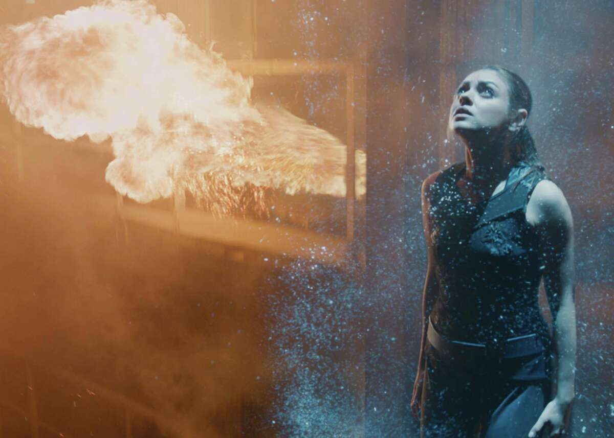 """Jupiter (Mila Kunis) is a slacker who learns she is the heir to Earth. Like, all of it. The Wachowski's new sci-fi epic, """"Jupiter Ascending,"""""""