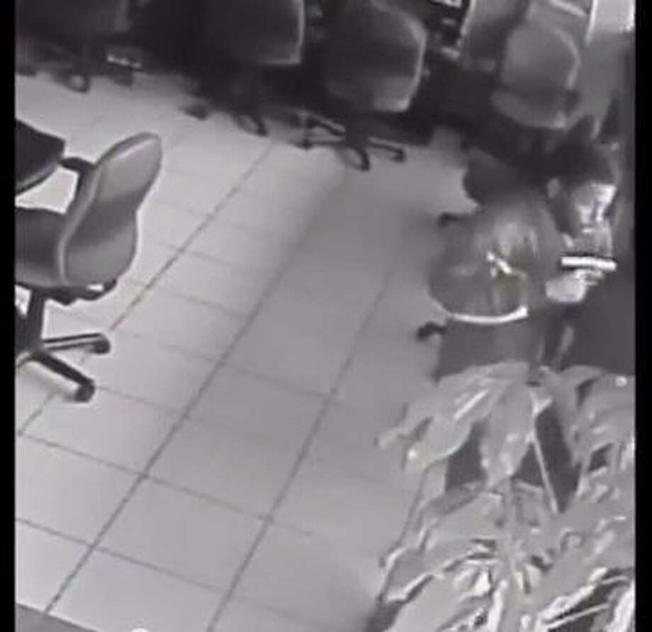 Security cameras at the 777 Game Room recorded the robbery.