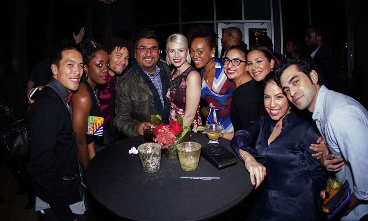 Party goers at the Remy Martin Circle Of Centaurs Houston Event