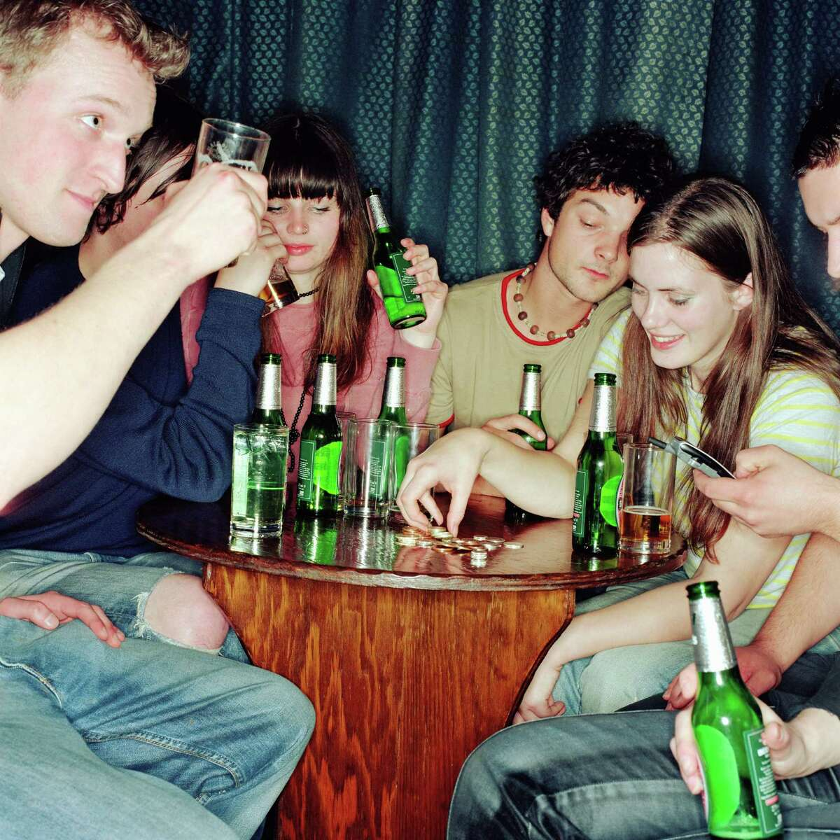 Social activities on the decline Nearly 39 percent of students polled said they spent five hours or less each week socializing, compared to the 18 percent who got out and had fun in 1987. Source:UCLA's Higher Education Research Institute/Associated Press