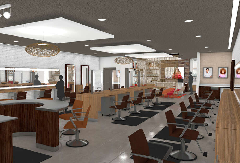 An artist's rendering shows the new J.C. Penney hair salon, opening first in Los Angeles and Dallas. Photo: Uncredited / Associated Press / JC Penney