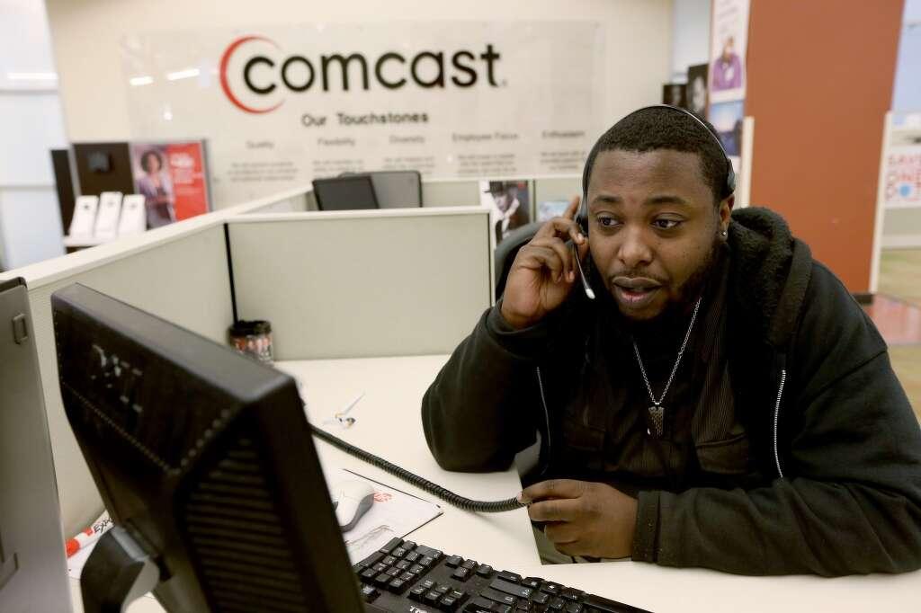Comcast Service Call