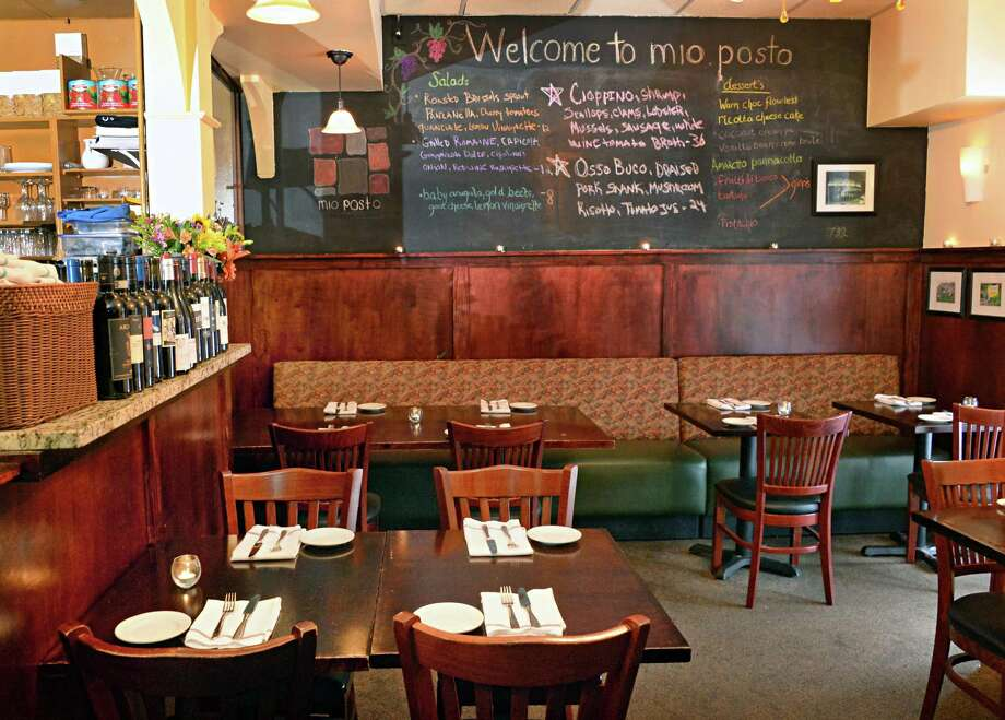 Mio Posto, 68 Putnam St., Saratoga Springs. 518-542-7581. Visit Web site. Read our review. Dining room in the Mio Posto restaurant at 68 Putnam Street Tuesday Jan. 27, 2015, in Saratoga Springs, NY.   (John Carl D'Annibale / Times Union) Photo: John Carl D'Annibale / 00030306A
