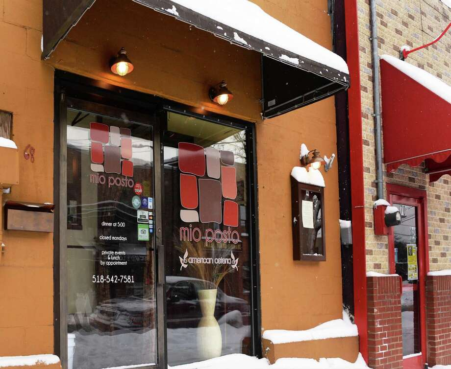 Mio Posto, 68 Putnam St., Saratoga Springs. 518-542-7581. Visit Web site. Read our review. Entrance to the Mio Posto restaurant at 68 Putnam Street Tuesday Jan. 27, 2015, in Saratoga Springs, NY.   (John Carl D'Annibale / Times Union) Photo: John Carl D'Annibale / 00030306A