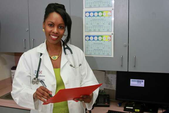 Dr. Charlene Flash at the Thomas Street Health Center. Dr. Flash advocates for the use of the drug Truvada for prevention of HIV infection.