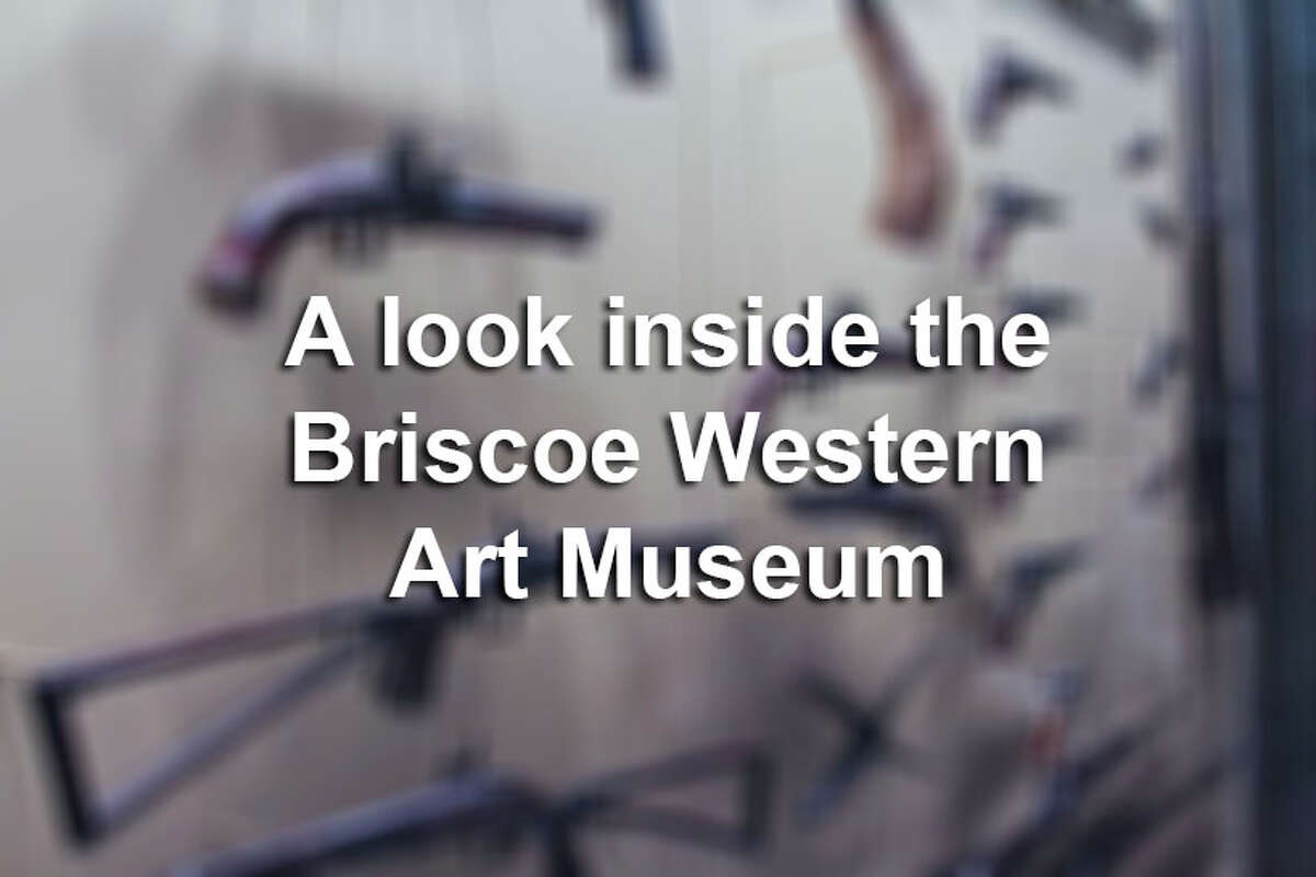 Here's an extra look into the Briscoe Western Art Museum.
