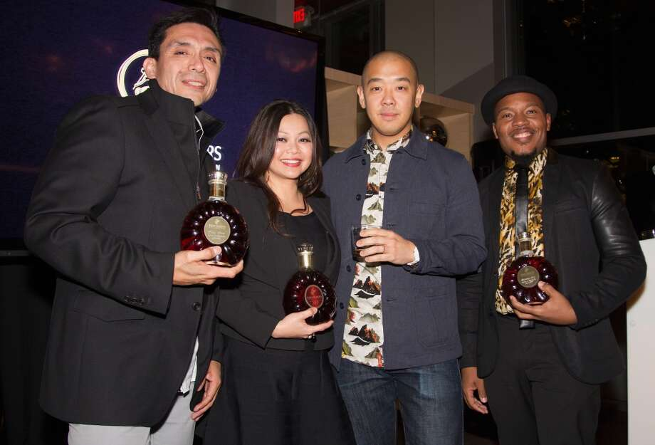Tony Diaz,Chloe Dao, Jeff Staple and Harrison Guy Photo: Bob Levey, Getty Images For Remy Martin