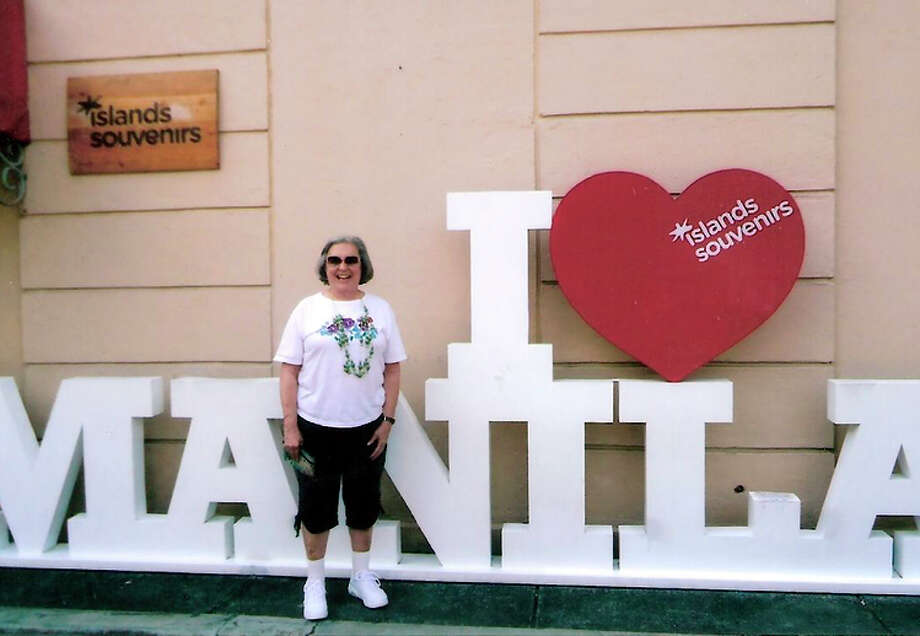 Beryl Geller of Hillsborough in Manila, Philippines. / ONLINE_YES