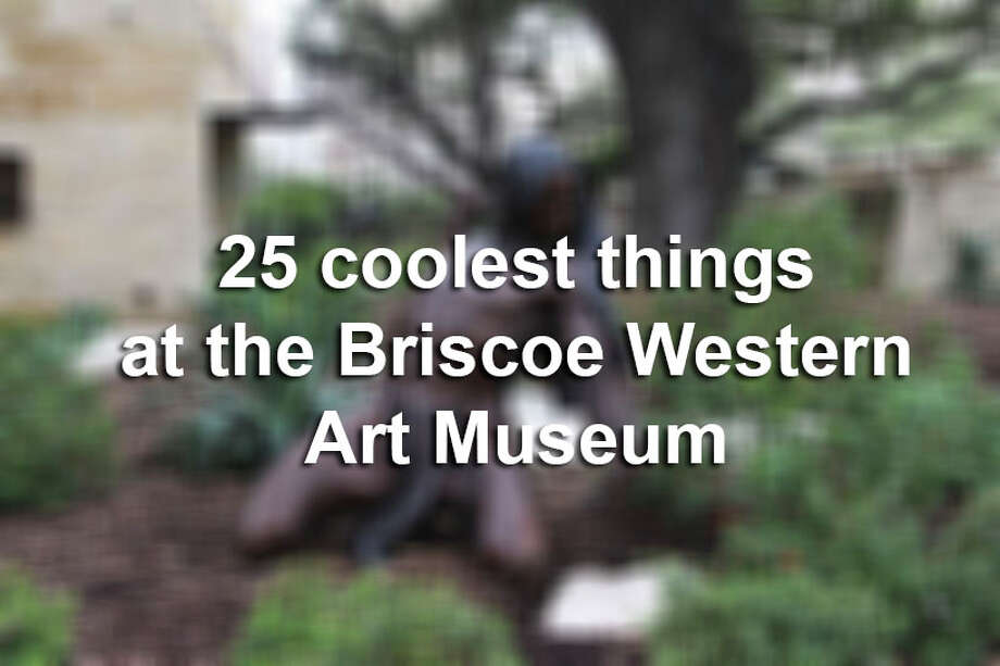 The Briscoe Western Art Museum offers a great selection of activities involving the historical American West. Click through the slideshow to check out 25 cool things about the museum. Photo: Photo By Tyler White