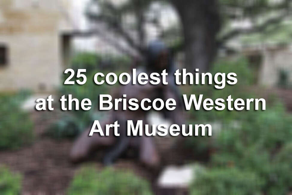 The Briscoe Western Art Museum offers a great selection of activities involving the historical American West. Click through the slideshow to check out 25 cool things about the museum.
