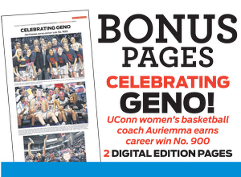 Sports Bonus Content e-edition UConn Women - Gino Auriemma 900th victory Photo: Contributed Photo, Bonus Content / Connecticut Post Contributed
